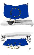 "Brexit - Illustration im Studentenmagazin ""Presstige"""